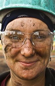 Woman Coal Miner