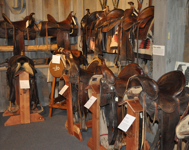 Rockpile Museum Saddles